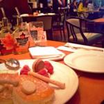 ホテル ニューオータニ、カフェで甘いものを