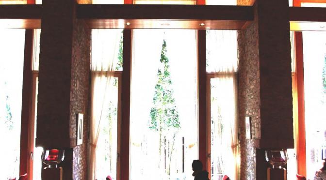 芦ノ湖を一望する円筒ホテル、ザ・プリンス箱根