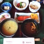 奈良ホテルの名物朝食、茶がゆ定食で目覚めるさわやかな朝