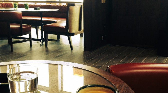 アンダーズ東京 51階、アンダーズ タヴァーンから眼下に望む東京の景色