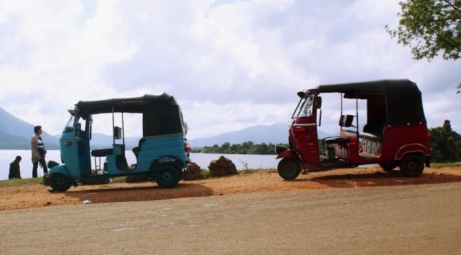 スリランカの三輪タクシー、トゥクトゥクで巡る生活の場所