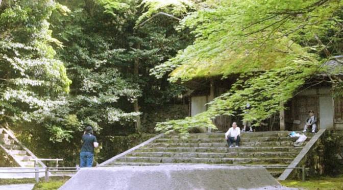 空気が澄んだ清々しい、万緑の法然院へ