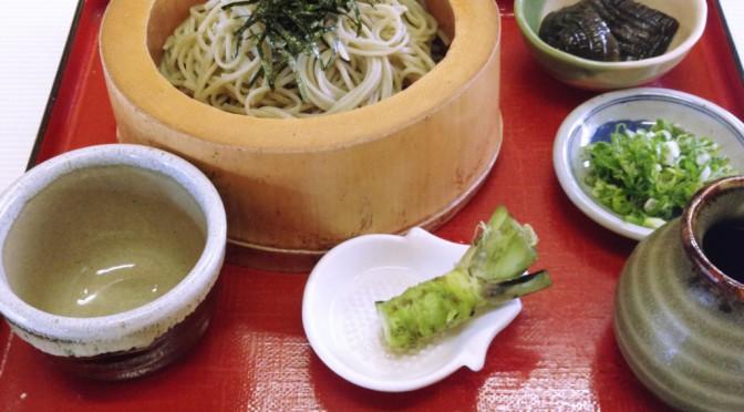 伊豆 河津七滝の茶屋でひと休み、名物のわさび丼をいただく