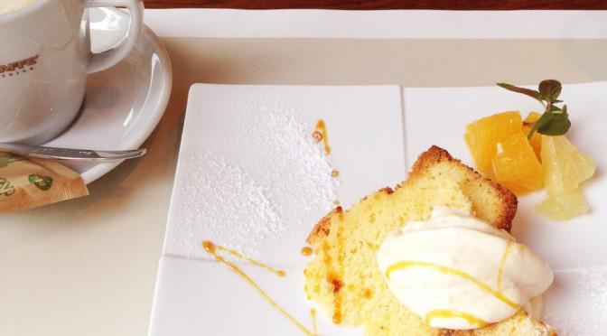 飯田橋グラン・ブルーム「サクラテラス」のイタリアンレストラン「ルッコリーナ」でティータイム
