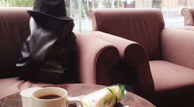 タリーズ神楽坂店、仕事前に珈琲を一杯