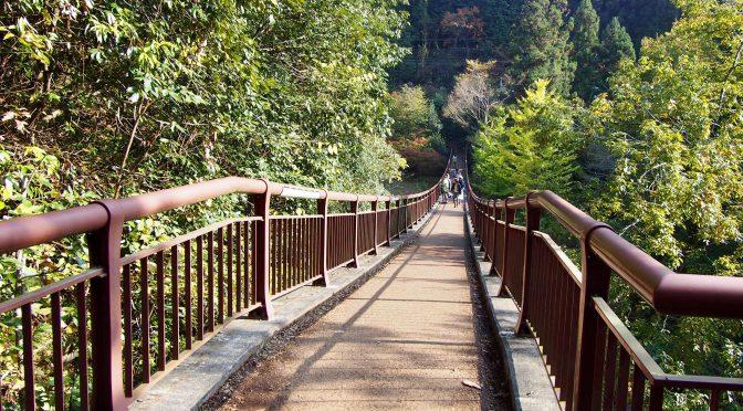 紅葉を見に秋川渓谷へドライブ