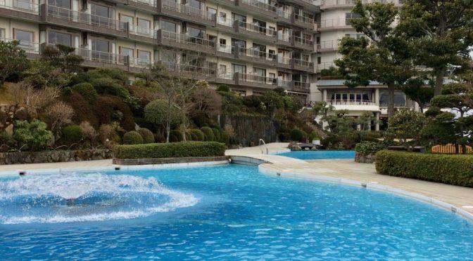 有馬グランドホテルの絶景、展望露天風呂で極楽タイム