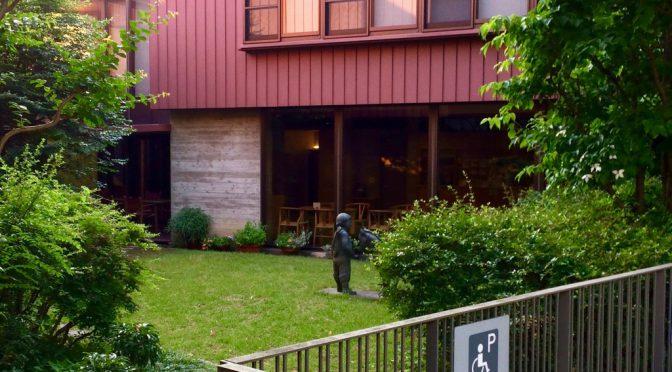 石神井の住宅街、ちひろ美術館を訪ねる
