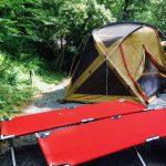 山中湖で森林浴キャンプ
