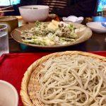 西丹沢キャンプの帰りに美味しいお蕎麦